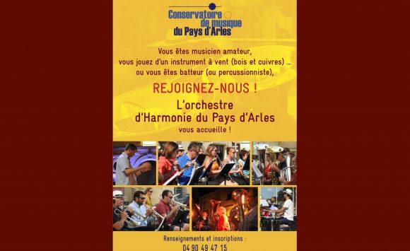L'orchestre  d'Harmonie du Pays d'Arles